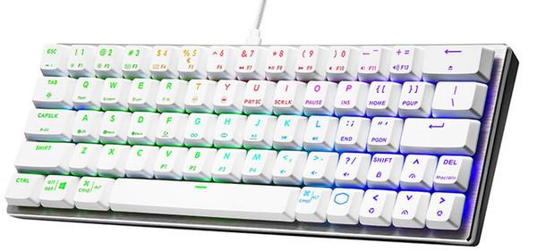 Компактная клавиатура Cooler Master SK620 оценена в