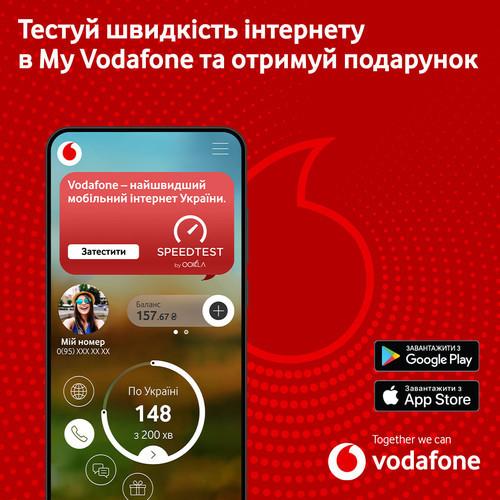 Vodafone дарит безлимит на соцсети за тестирование скорости