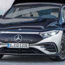 Mercedes-Benz представила новый флагманский электрический седан EQS